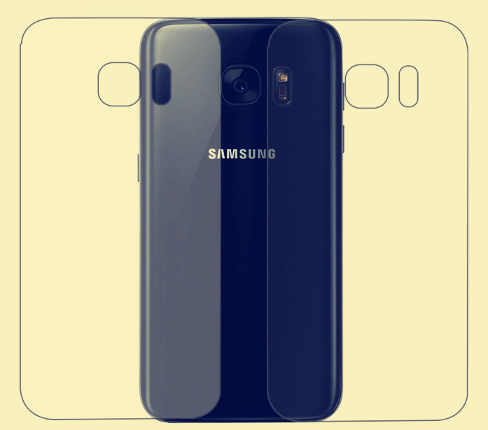 Защитная TPU пленка Best Suit для задней панели Samsung Galaxy S7 Edge