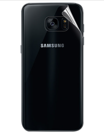 Защитная TPU пленка Best Suit для задней панели Samsung Galaxy S6 Edge